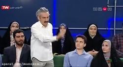 اعتراض ارژنگ امیرفضلی به موضوع و میهمان خندوانه
