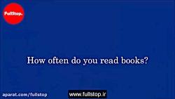 مکالمه انگلیسی درباره کتاب