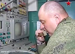 Firing missile system S-300 Russian