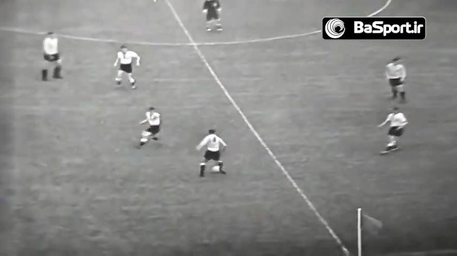 بازی خاطره انگیز آلمان - آرژانتین در سال 1958