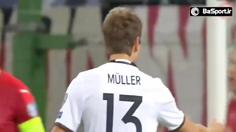 تمام 43 گل آلمان در راه صعود به جام جهانی 2018