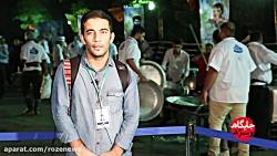عکاس خبرگزاری تسنیم در ...