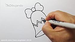 کارتون آموزش نقاشی برای کودکان ❤ قسمت 4 ❤