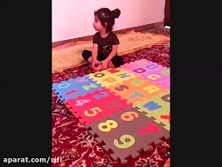 English Letters By Barana 2 years old