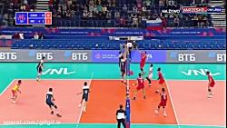 خلاصه والیبال ایران ۳ چ...