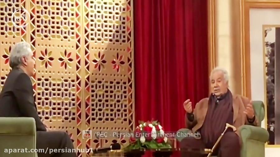 مصاحبه مهران مدیری با ناصر ملک مطیعی در دورهمی