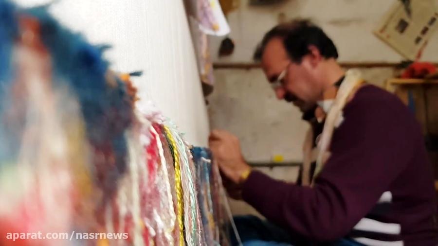 بازار مظفریه تبریز؛ بهشت پایتخت فرش دستباف جهان +فیلم