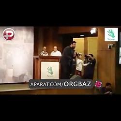 اجرای محمد علیزاده درجشن خیریه با رقص جوادرضویان