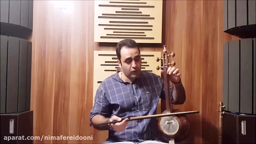 فیلم آموزش کمانچه گلچین آهنگ ها رشید خان ایمان ملکی