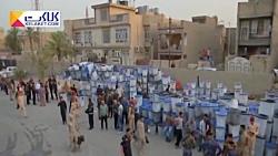 آتش زدن صندوقهای رای در عراق!