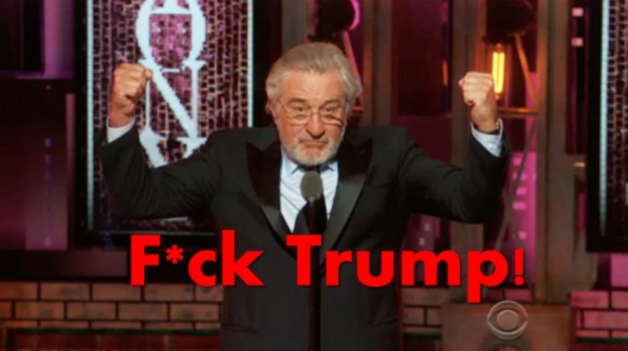 رابرت دنیرو، ترامپ را به فحش کشید!
