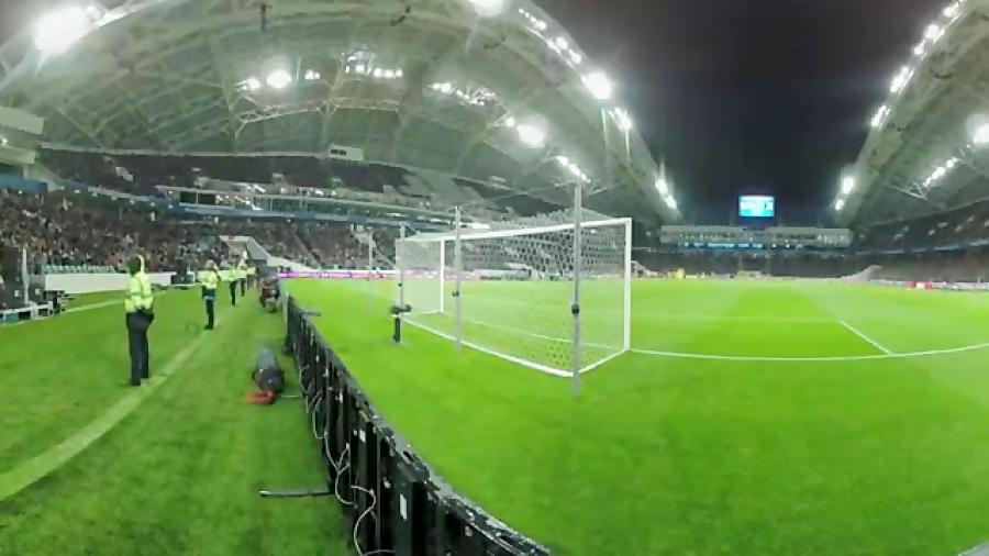 ویدیویی 360 درجه از استادیوم فیشت