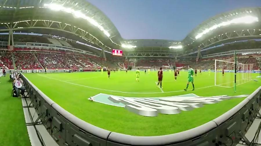 ویدیویی 360 درجه از استادیوم کازان