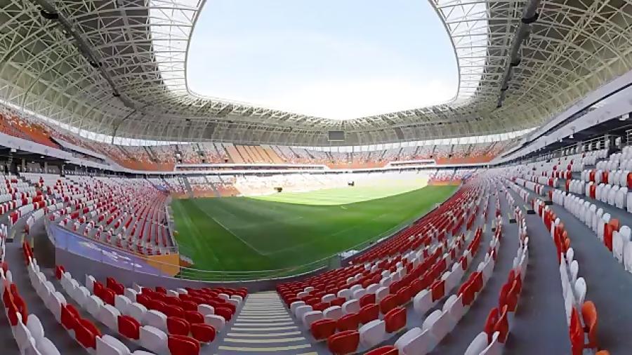 ویدیویی 360 درجه از استادیوم موردوویا