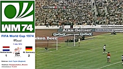 World Cup West Germany 1974- Netherlands - West Germany