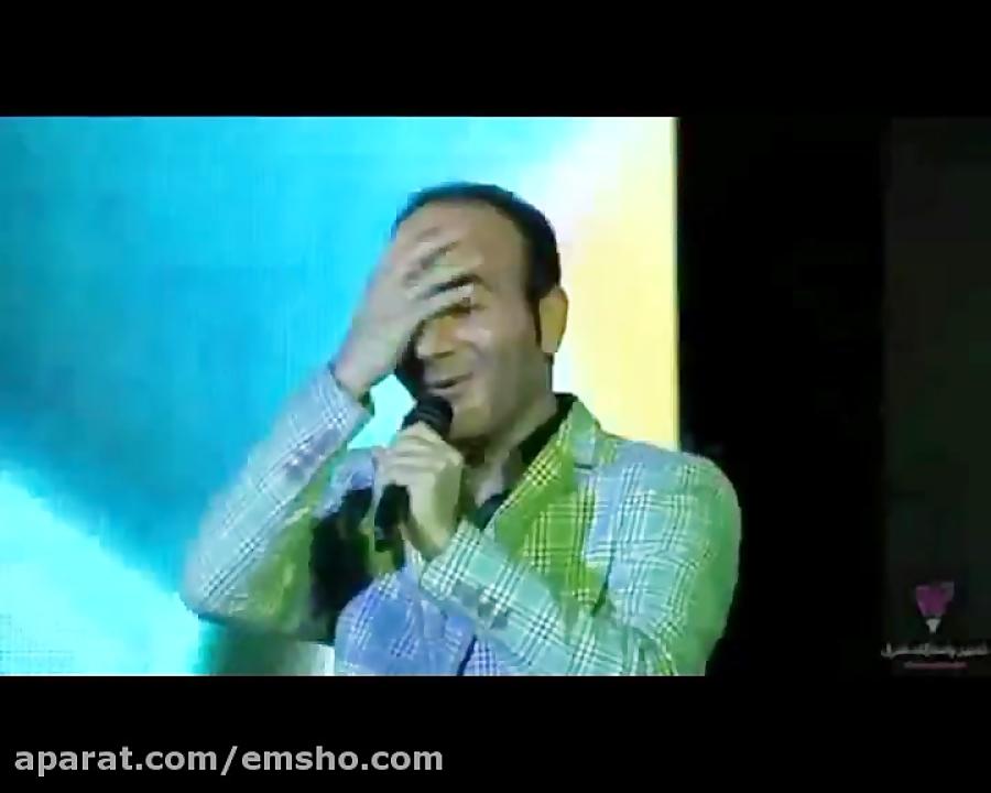 سوژه مسخره کردن ماه عسل احسان علیخانی درحضور حسن ریوندی