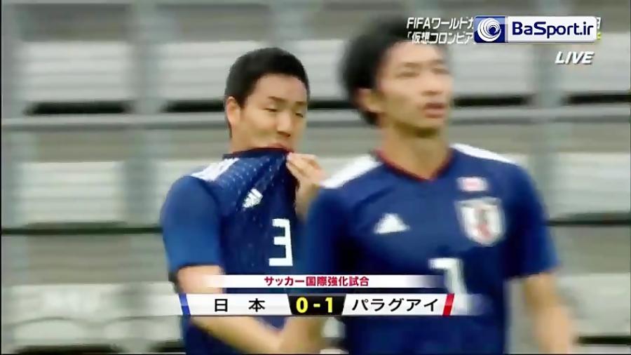 خلاصه بازی ژاپن 4-2 پاراگوئه