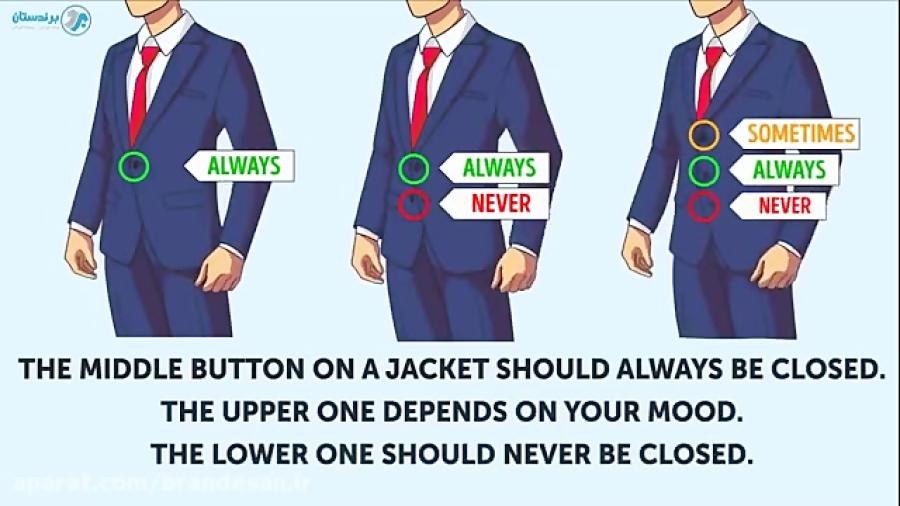 14 قانون لباس پوشیدن که هر کس باید بلد باشد