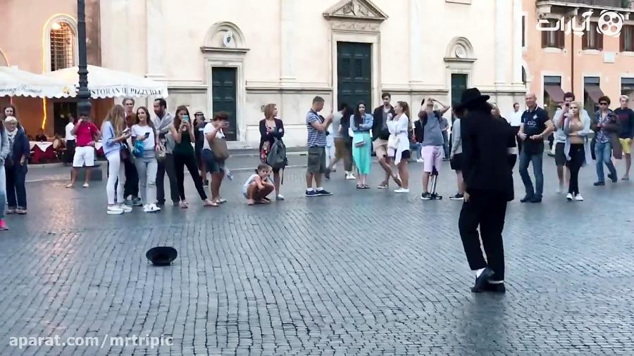 بدل خواننده مشهور آمریکایی در رم