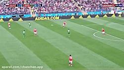 گل دوم تیم ملی روسیه در برابر عربستان در جام جهانی ۲۰۱۸