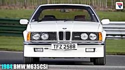 BMW - سیر تکاملی سری M از سال 1978 تاسال 2018