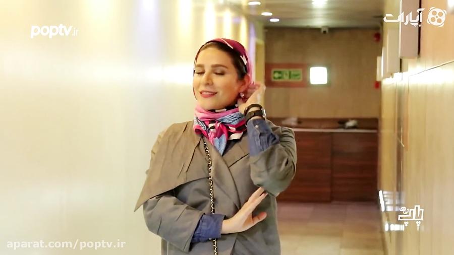 اختصاصی: ژست های سحر دولتشاهی مقابل دوربین عکاس ها