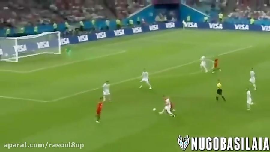 خلاصه بازی پرتغال 3 - اسپانیا 3
