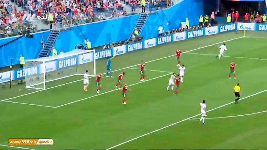 2018/آنالیز عملکرد روزیه چشمی در بازی ایران برابر مراکش با حضور خسرو حیدری