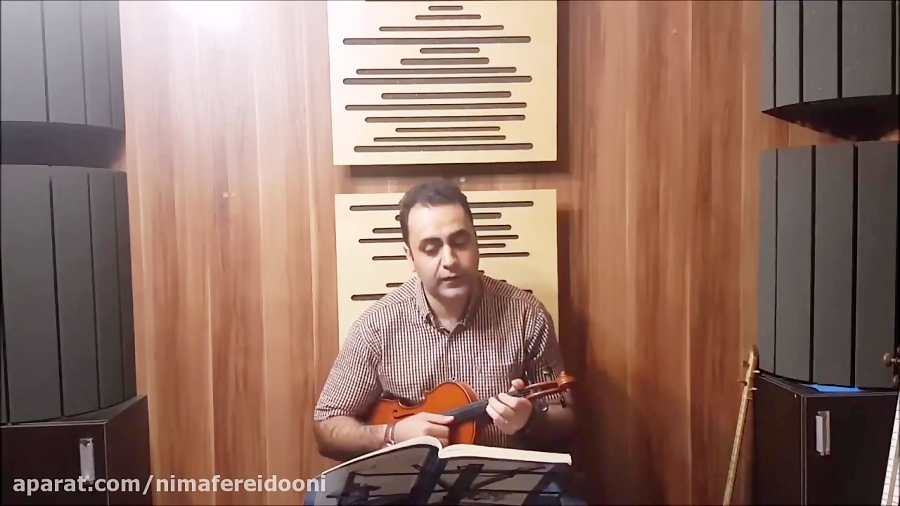 فیلم آموزش شکوفهها گلچین آهنگها ایمان ملکی ویولن
