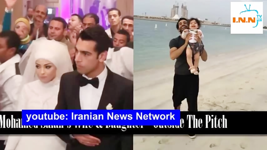 تصاویر عروسی محمد صلاح به همراه لحظه های عاشقانه اش تا