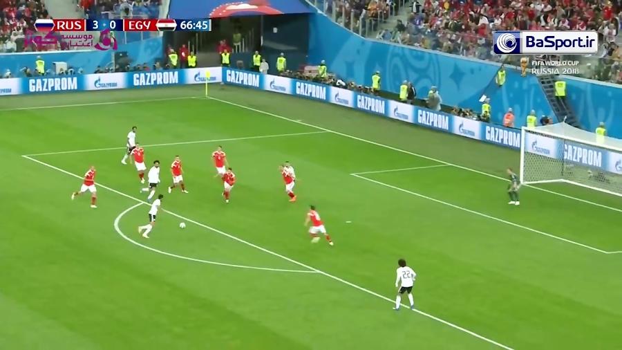 خلاصه بازی روسیه 3-1 مصر (HD)
