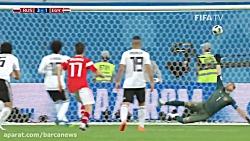 گل های بازی روسیه 3-1 مصر ; صعود میزبان به 1/8 نهایی