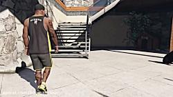 GTA V PC Franklin Kills Trevor (Editor Roc...