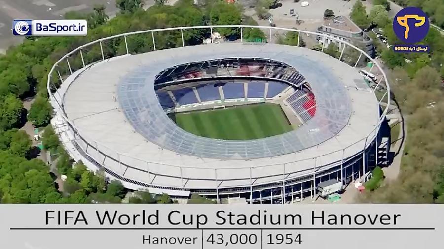 استادیوم های جام جهانی 2006 آلمان