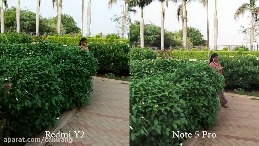 مقایسه دوربین Redmi Note 5 Pro با Xiaomi Redmi Y2