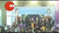فیلم  اسحاق جهانگیری معاون اول رئیس جمهور چند روز قبل از انتخابات ریاست جمهوری 9