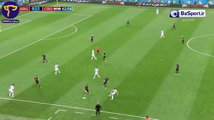 خلاصه بازی آرژانتین 0-3 کرواسی (HD| سوپرگل مودریچ)