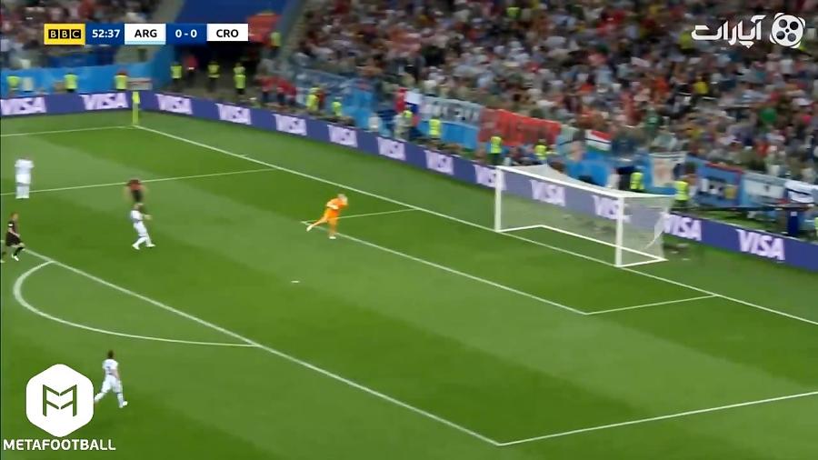 گل های بازی آرژانتین 0 - کرواسی 3