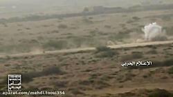 انهدام خودروهای سعودی ...
