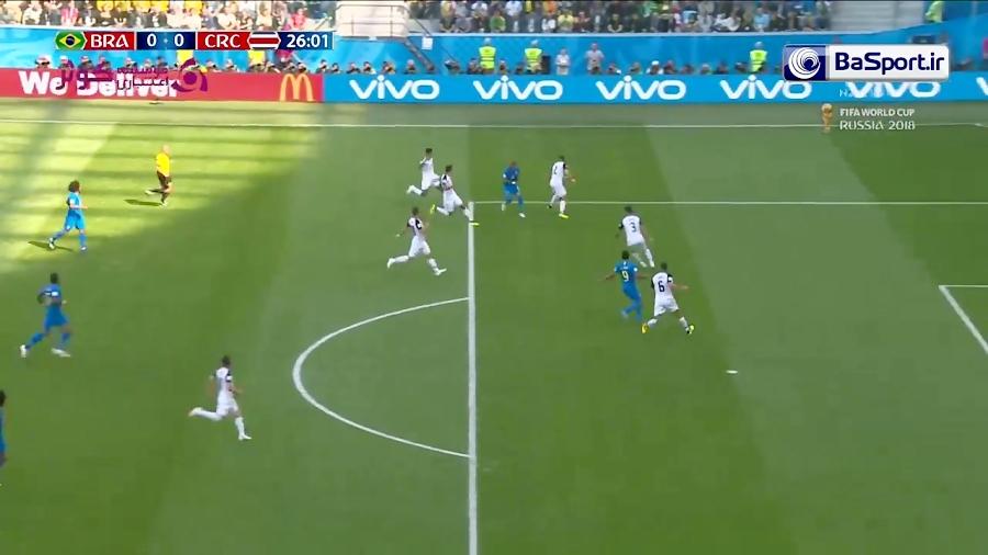 خلاصه بازی برزیل 2-0 کاستاریکا (HD|پیروزی در وقت اضافه)