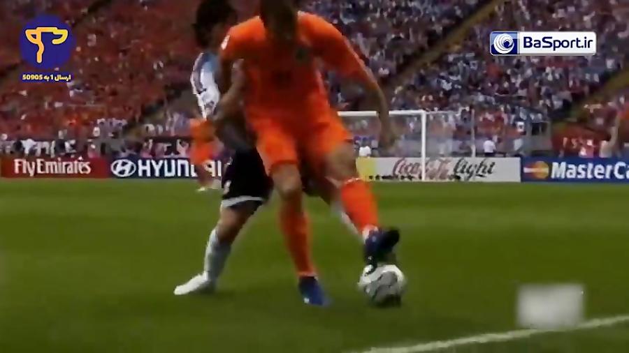 مهارتهای لیونل مسی در جام جهانی های 2006 و 2010