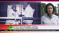'Boost' Salisbury: Royals visit place wher...