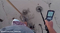 Beach Metal Detecting 2 Rings 5/17/18