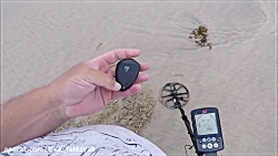 Beach Metal Detecting By The Pier.