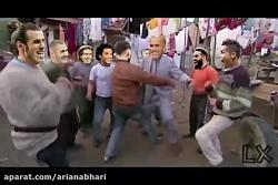 رقص دیدنی و جذاب رئال مادرید و بارسلونا