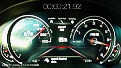 تست شتاب خودروهای بی ام و M5 و فولکس واگن گلف
