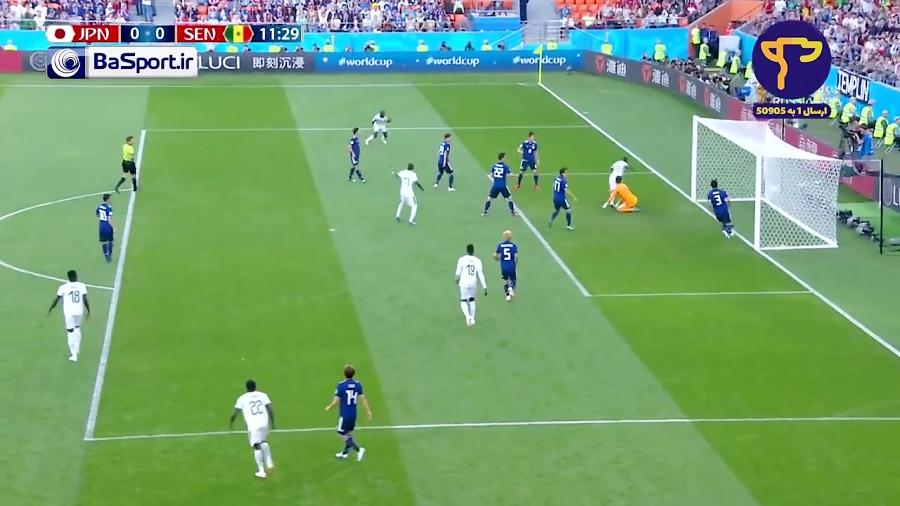 خلاصه بازی ژاپن 2-2 سنگال (HD)