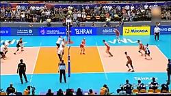 خلاصه بازی ایران 3-2 آلمان (لیگ ملت های والیبال)