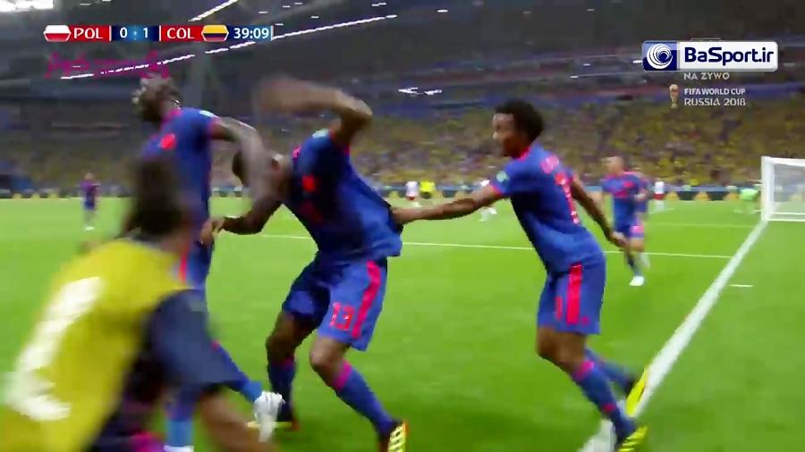 خلاصه بازی لهستان 0-3 کلمبیا (HD)