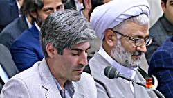 شعرخوانی بابک اسلامی در دیدار شعرا با رهبری